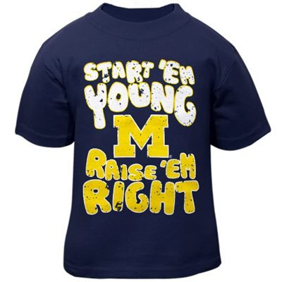 Michigan Wolverines Baby esie Jersey Creeper 3m 24m