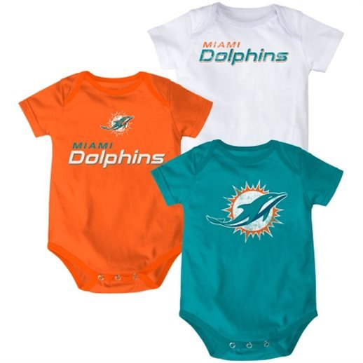 Get ready for game day with Dolphins baby clothing, Miami Dolphins infant outfits, accessories, sports furniture and more from hitseparatingfiletransfer.tk! We offer Dolphins baby jerseys, sleepers, cheerleader dresses, Dolphins mobiles and many more Miami Dolphins baby gear options for your little fan! We have the perfect Dolphins baby gift for a newborn fan in the making!